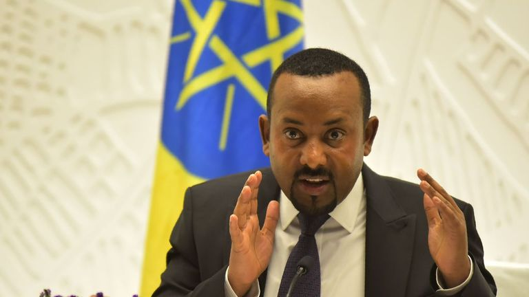 Ethiopia's Prime Minister Abiy Ahmed has been in power since 2018