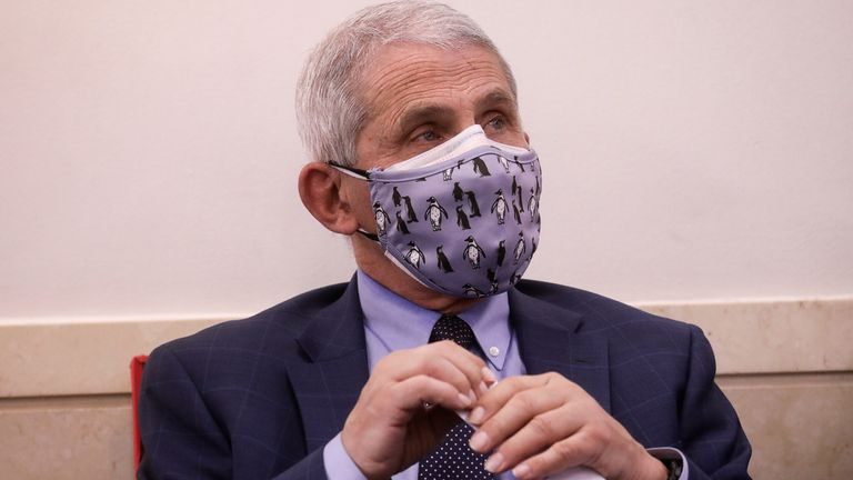 Dr Anthony Fauci predicts Thanksgiving may have made the pandemic worse