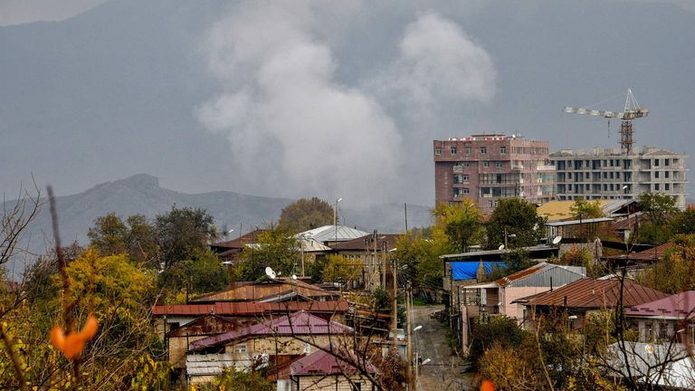 Shelling and fighting continues over the breakaway region of Nagorno-Karabakh