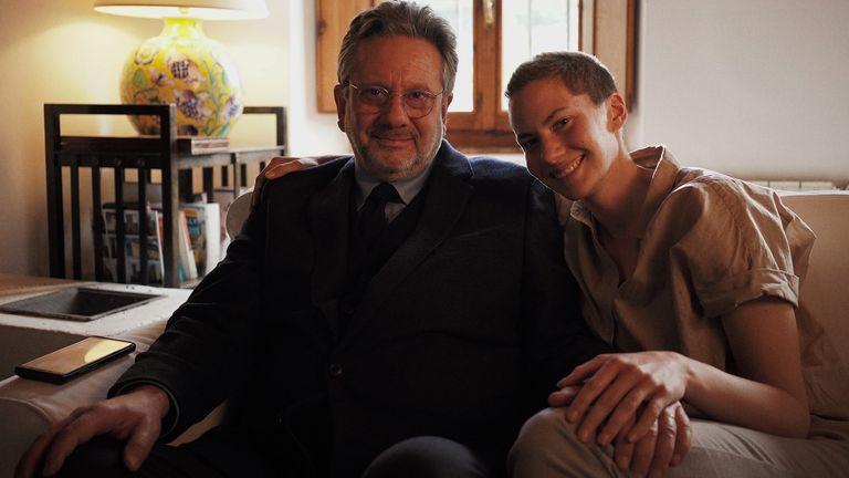 Audrey Hepburn's son Sean and granddaughter Emma