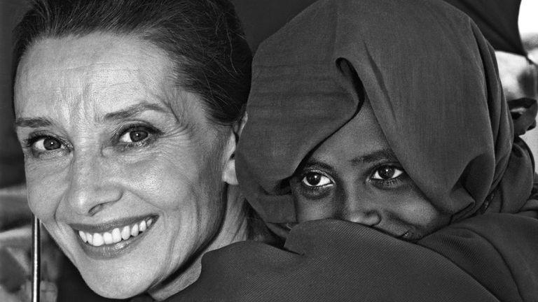 Audrey Hepburn Pic: John Isaac