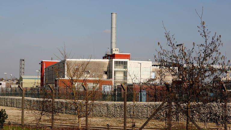 The Atomic Research Establishment, Aldermaston, Berkshire