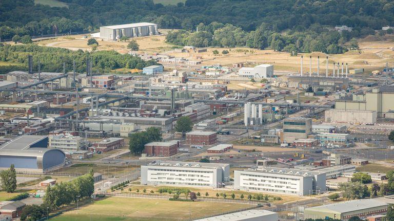 The AWE runs the Aldermaston factory in Berkshire