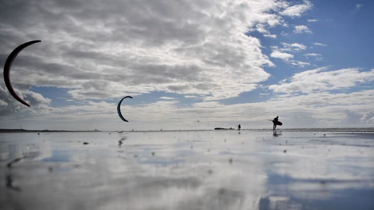 Camber in East Sussex is also a very popular choice amongst coastal home owners Pic: Ben Stansall/AFP via Getty Images