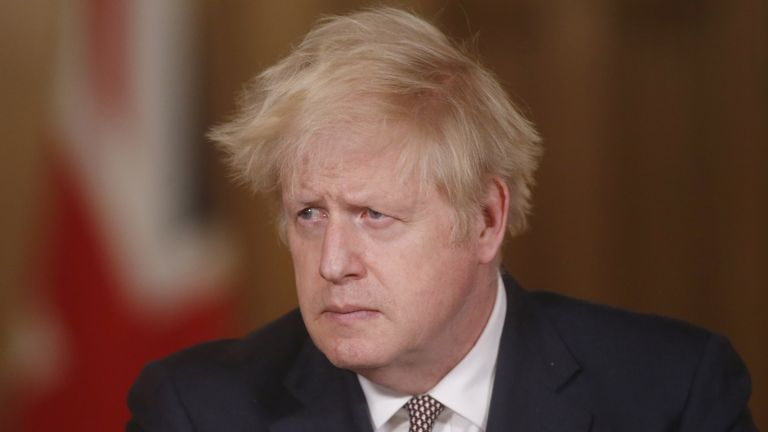 Some MPs are angered by the tough course Boris Johnson has set
