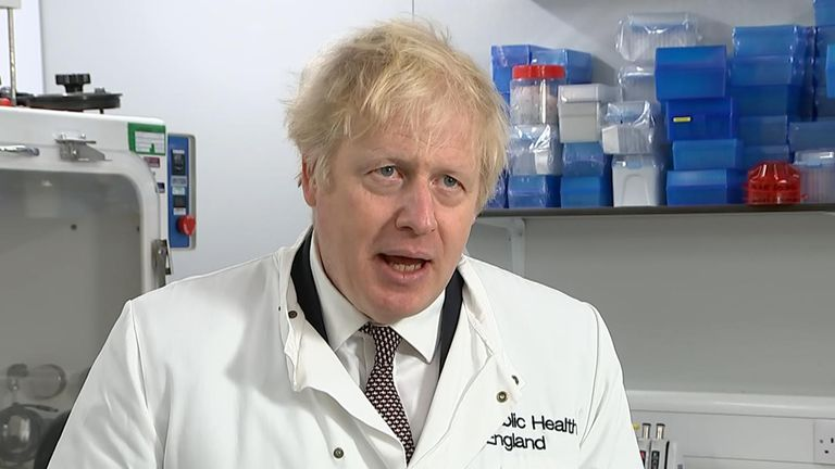 Prime Minister Boris Johnson said he understood frustrations with the tier system, but explained the government's rationale behind it.