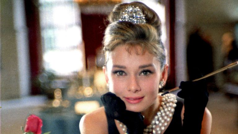 Breakfast At Tiffany's. Pic: Howell Conant/Paramount/Kobal/Shutterstock