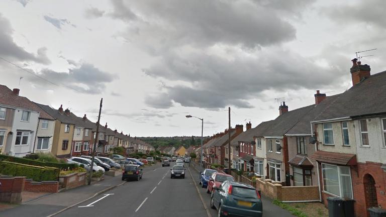 Bucks Hill, Nuneaton. Pic: Google Street View