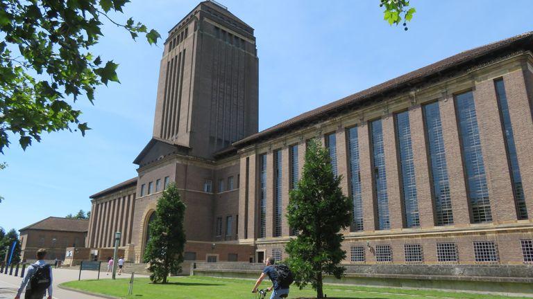 Cambridge University Library. Pic: Cambridge University Library