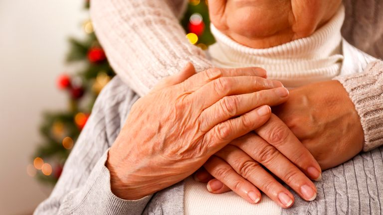 Chief medical officer chris Whitty warned against hugging elderly relatives