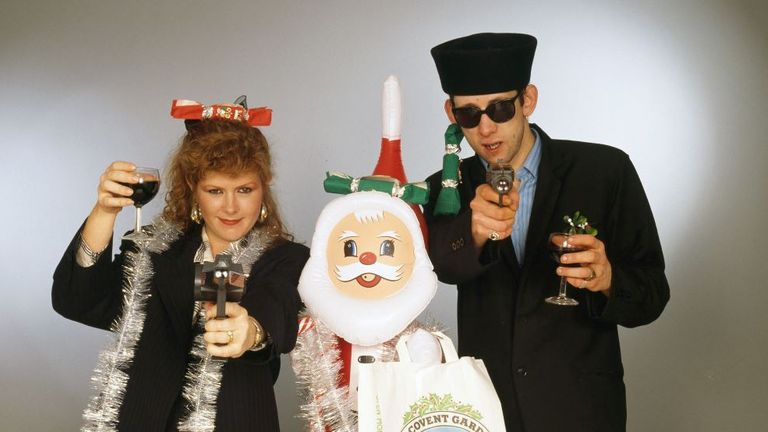 Singers Kirsty MacColl and Shane MacGowan collaborated on the controversial Pogues' Christmas song 'Fairytale in New York' which is now considered offensive by some