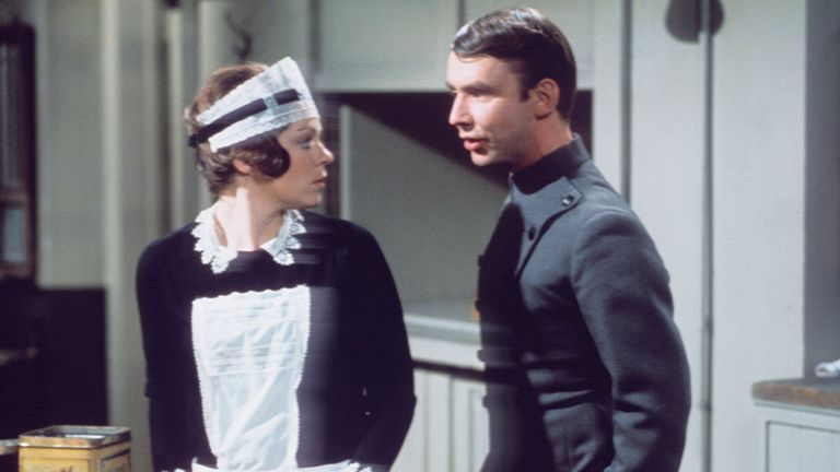 'Upstairs Downstairs' TV Series 2 - 1972 Jacqueline Tong and Christopher Beeny