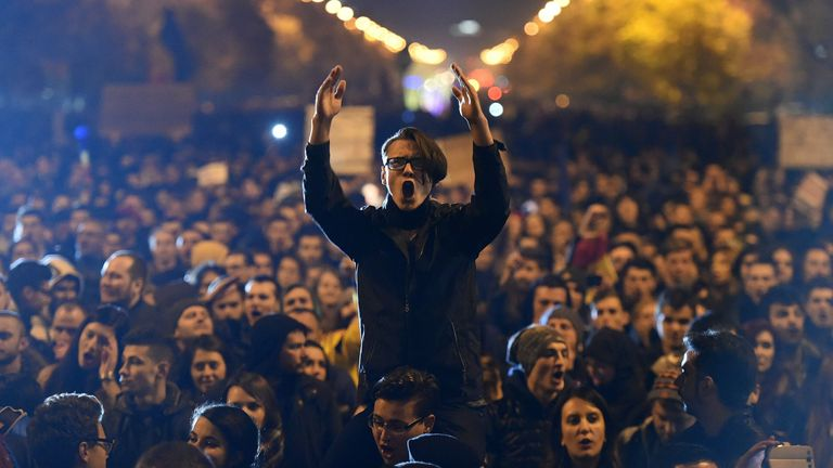 Protests followed the fire, and the prime minister stood down