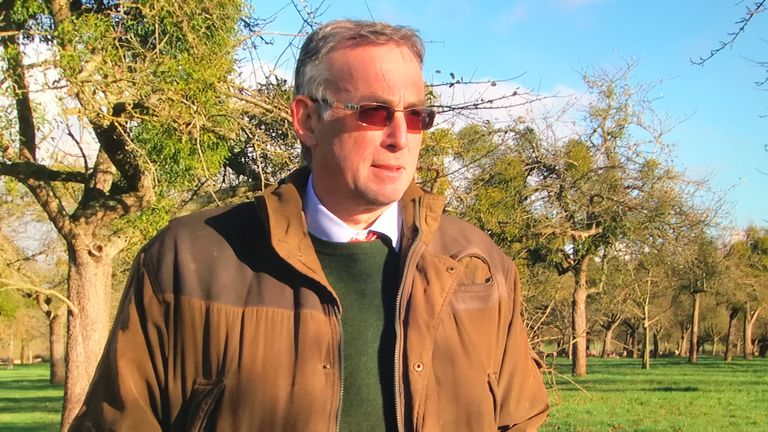 Nick Champion mistletoe seller fears Christmas sales will take a nosedive because of COVID-19