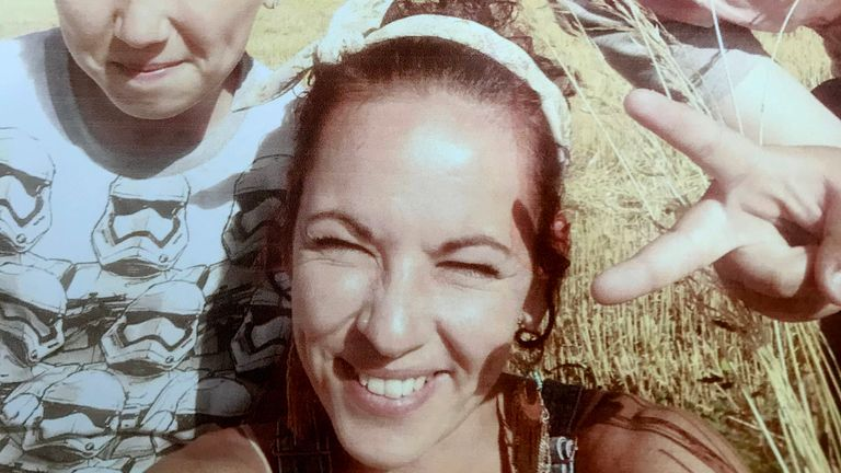 Danielle Chilvers, 37, of Swaffham in Norfolk, who died after she went into the sea at Waxham, Norfolk,