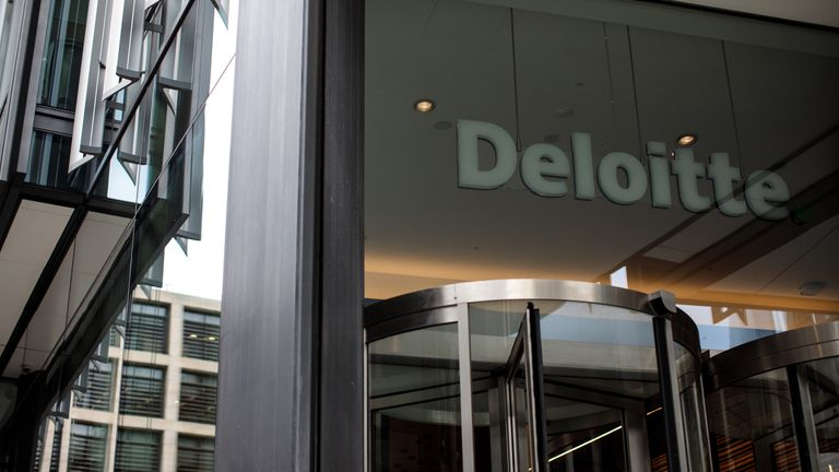 Deloitte is discussing selling its British restructuring business