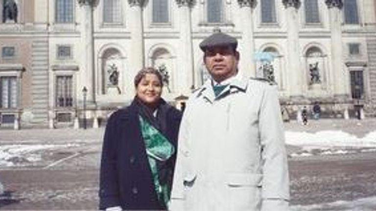 Mohamed and Hosna Kamruzzaman have both developed dementia