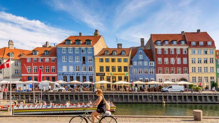 Denmark has been taken off the total travel ban list