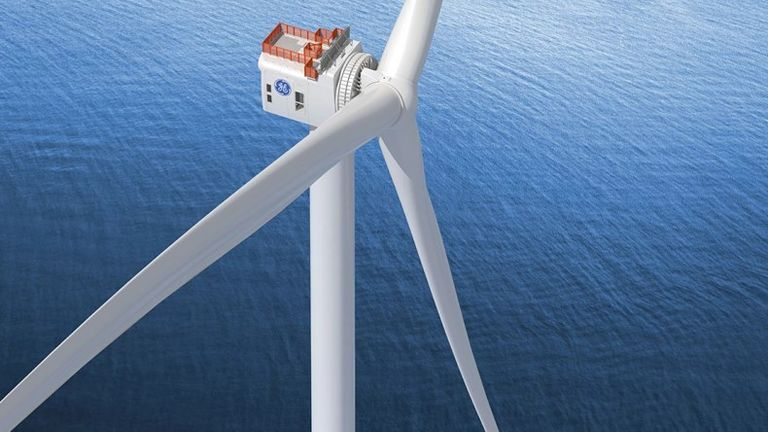 Dogger Bank will be the world's largest offshore wind farm and able to produce up to 5% of UK electricity needs. Pic: SSE