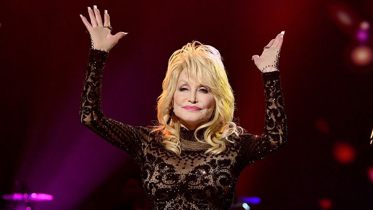 LOS ANGELES, CA - FEBRUARY 08: Honoree Dolly Parton performs onstage during MusiCares Person of the Year honoring Dolly Parton at Los Angeles Convention Center on February 8, 2019 in Los Angeles, California. (Photo by Michael Kovac/Getty Images for NARAS)