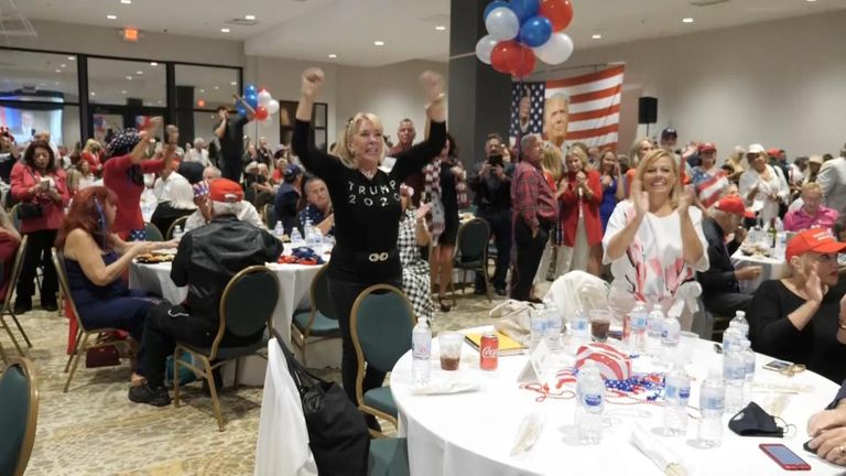 Republics were celebrating even before Florida was declared