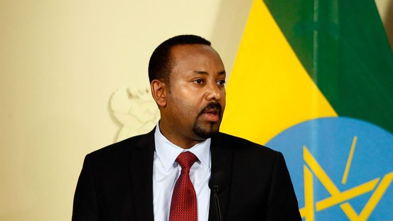Ethiopia's PM Abiy Ahmed Ali denounced the killing of the group based on their identity