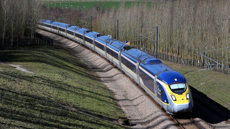 File photo dated 11/03/19 of a Eurostar train, as the Government is being urged to offer support to cross-Channel rail firm Eurostar after union leaders said they have been told of cuts which will hit jobs and services.