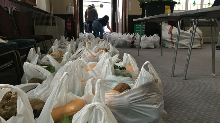 The Bread and Butter Thing, are dealing with a surge in the number of families or individuals asking for help
