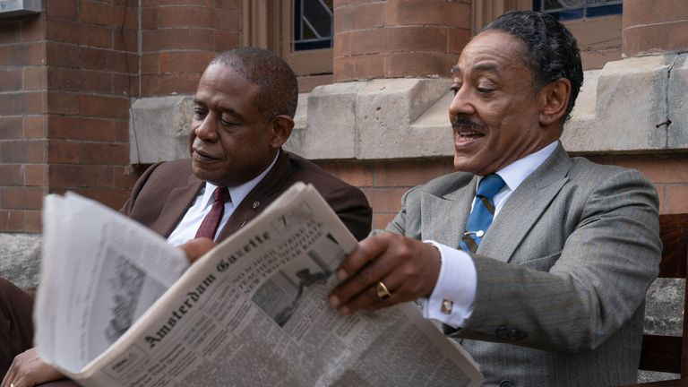 Forest Whitaker plays real crime boss Bumpy Johnson. Pic: Disney/ABC