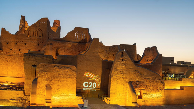 The Kingdom is the first Arab state to hold the G20 summit. Credit Diriyah Gate Development Authority