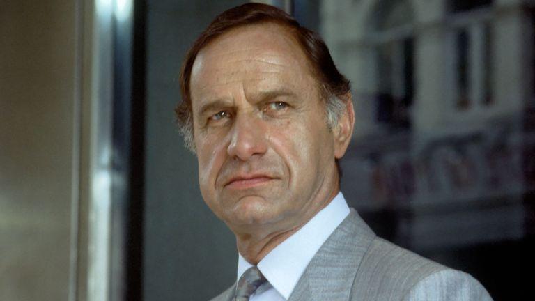 Geoffrey Palmer in 1986. Pic: Fremantle Media/Shutterstock