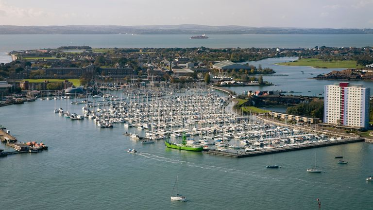 Gosport harbour