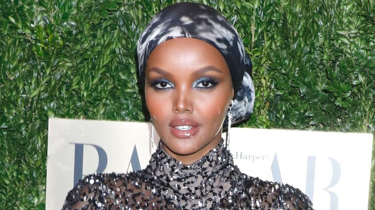 Halima Aden. Pic: Gregory Pace/Shutterstock
