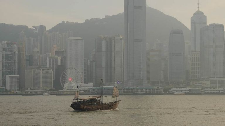 The group tried to escape Hong Kong in August