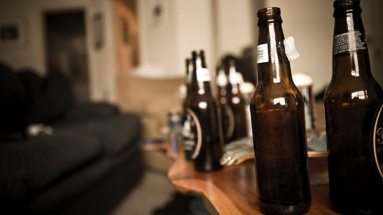 A man has been fined £10,000 for hosting a house party. File pic