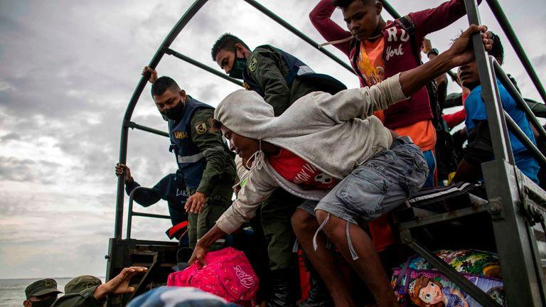 تم إجلاء المجتمعات في نيكاراغوا قبل وصول إعصار إيوتا