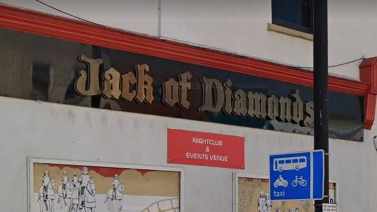 The Jack of Diamonds in Bristol has been found in breach of coronavirus restrictions multiple times. Pic: Google Street View