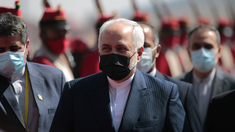 Iran's foreign minister Mohammad Javad Zarif quickly suggested Israel was behind the attack