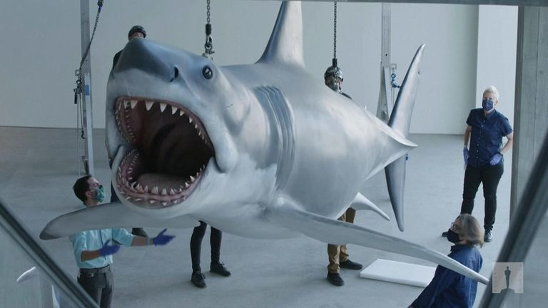 Three mechanical Great Whites were destroyed when production wrapped, but a fourth shark was made after the film's success