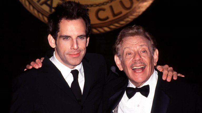 Jerry and Ben Stiller