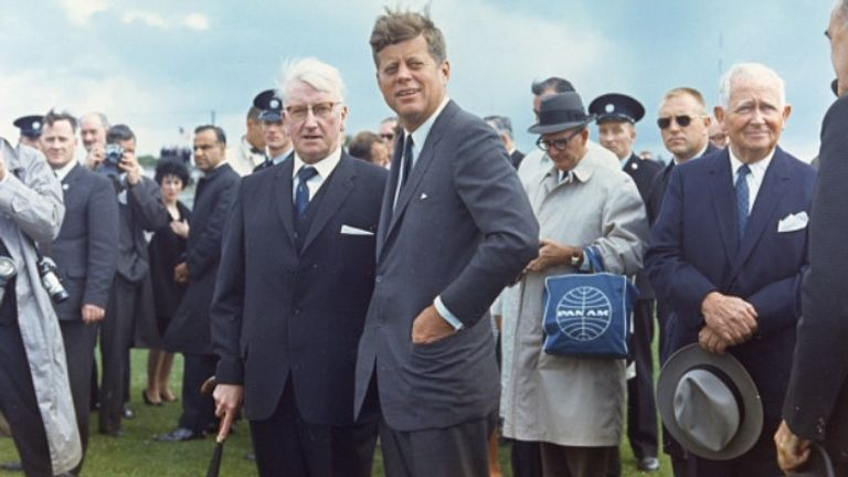 John F Kennedy's great-grandfather hailed from Dunganstown, Co Wexford and in 1963 he became the first sitting US president to visit Ireland