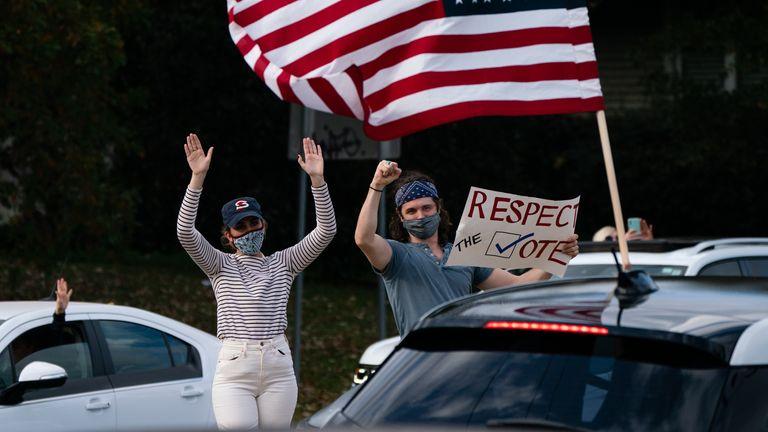 Joe Biden supporters