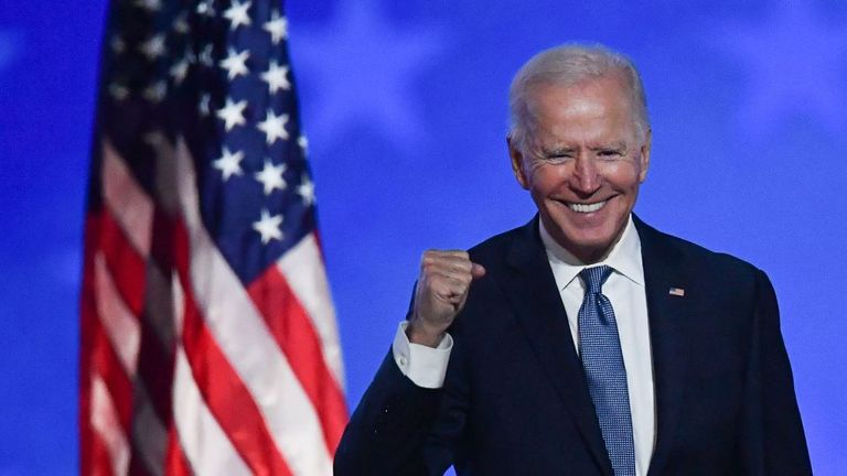 Dr Ewell called supporters of president-elect Joe Biden 'anti-American' and 'anti-Christian'