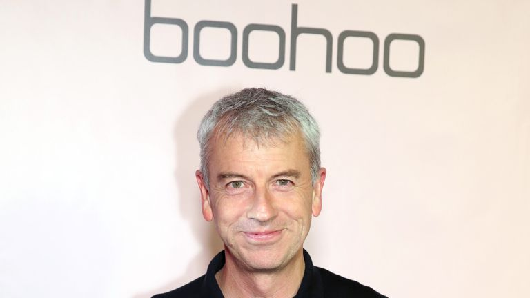 Boohoo CEO John Lyttle attends boohoo x All That Glitters Launch Party on November 07, 2019 in Los Angeles