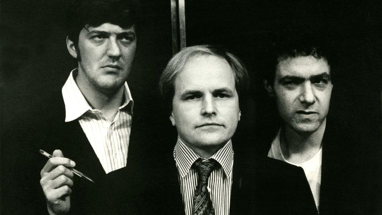 John Sessions,Clive Anderson,Stephen Fry