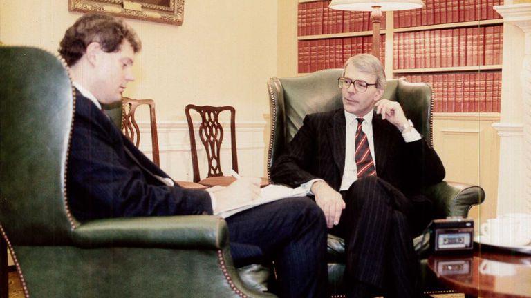 Jon Craig interviews Sir John Major