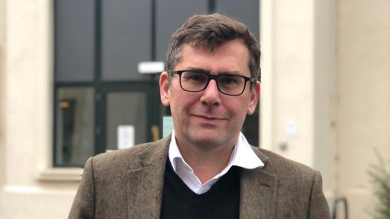 Charnwood Borough Council leader Jonathan Morgan