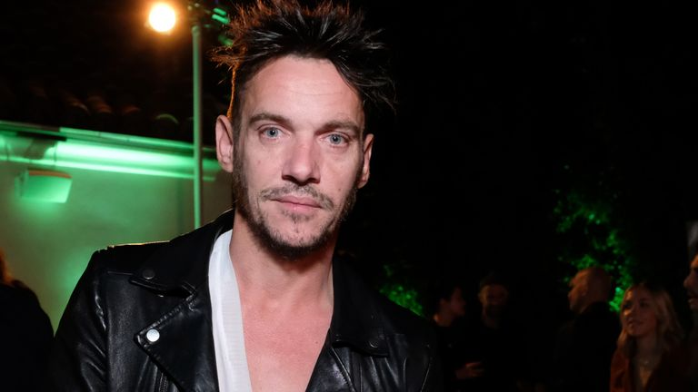 "HOLLYWOOD, CALIFORNIA - NOVEMBER 09: Jonathan Rhys Meyers attends Randall Slavin's ""We Want Something Beautiful"" book launch event hosted by Nathan Fillion on November 09, 2019 in Hollywood, California. (Photo by Sarah Morris/Getty Images)"