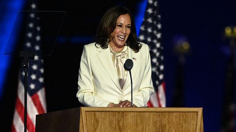 Kamala Harris said Joe Biden was a 'healer' and 'uniter'