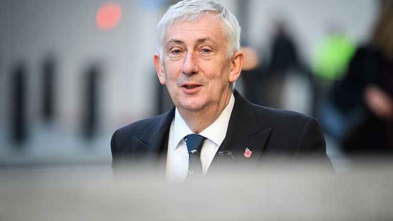 Lindsay Hoyle said he wanted to mark the day as many national events were scaled back or cancelled